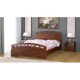Кровать Грация-1 (Орех)