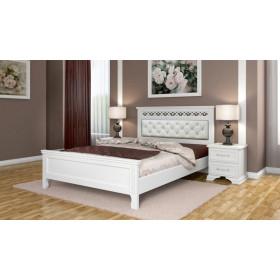 Кровать Грация (Белый античный)