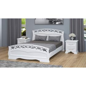 Кровать Грация-1 (Белый античный)