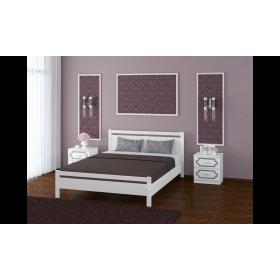Кровать Вероника-1 (Белый античный)