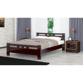 Кровать Вероника-2 (Орех темный)