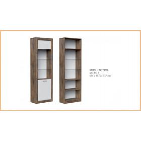 Шкаф с витриной Бергамо
