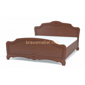 Кровать 1400 Лотос лак (Браво)