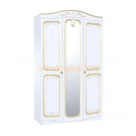 Шкаф ШР-3 Магия Белое золото