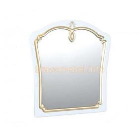 Зеркало навесное Магия Белое золото