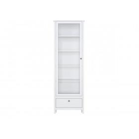 Шкаф-витрина REG1W1S/65 Хельга белая