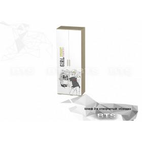 Шкаф ШК-09 детская Сенди