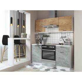 Кухня Дуся 1.6 (цемент-бунратти)