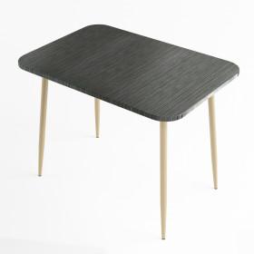 Стол обеденный Титан черный