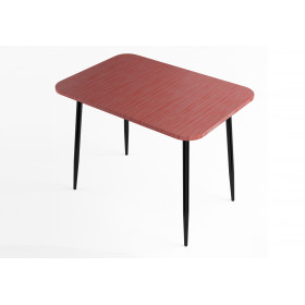 Стол обеденный Титан красный
