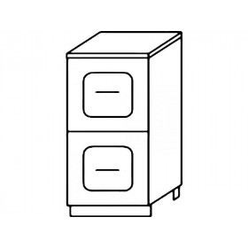 Стол рабочий Н400-2Я кухня Агава