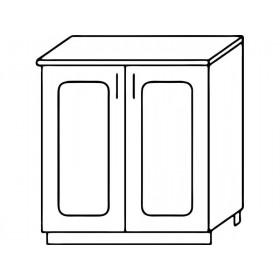 Стол рабочий Н600 кухня Агава