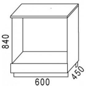 Стол под плиту НПЛ500 кухня Агава