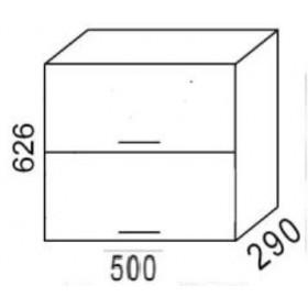 Шкаф навесной В500Г кухня Эра