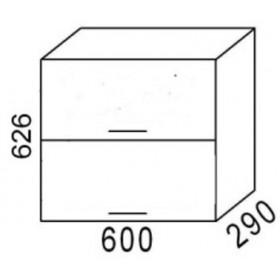 Шкаф навесной В600Г кухня Эра