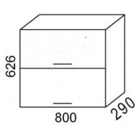 Шкаф навесной В800Г кухня Эра