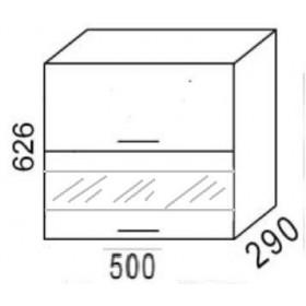 Шкаф навесной ВС500Г кухня Эра