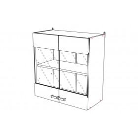 Шкаф навесной ВС600 кухня Шимо