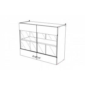 Шкаф навесной ВС800 кухня Шимо