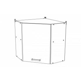 Шкаф навесной угловой ВУ600 кухня Шимо