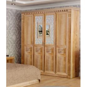 Шкаф 4-х дверный Амелия