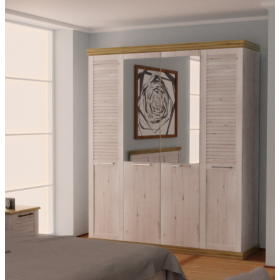Шкаф 4-х дверный Прованс