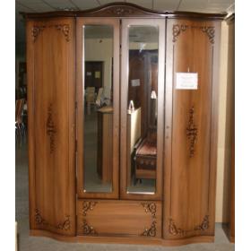 Шкаф 4-х дверный Сильвия