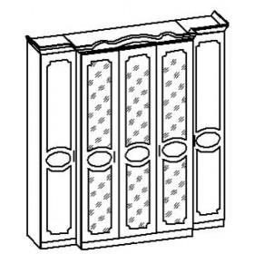 Шкаф 5-х дверный Вега-36