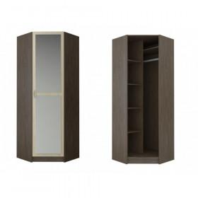 Шкаф угловой с зеркалом ШКУ прихожая Вега