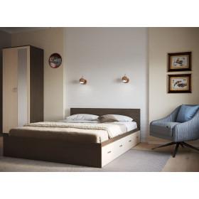 Кровать с ящиками КР4Я-140 Ронда