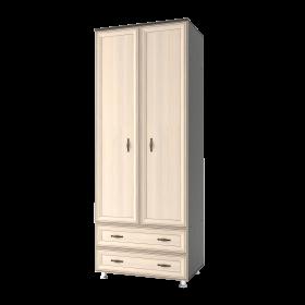 Шкаф 2д с ящиками Классика