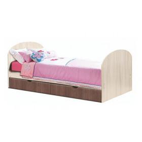 Кровать одинарная с ящиком ПМ-5 детская Юниор-6