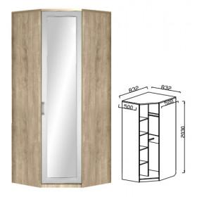 Шкаф угловой с зеркалом ЮН-8 детская Юниор-7