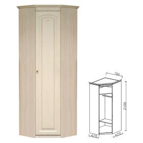 Шкаф угловой прихожая Визит-15