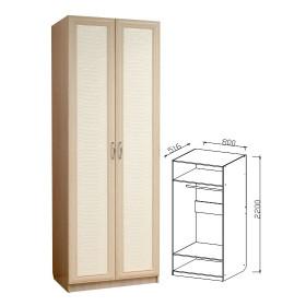 Шкаф 2-х дверный прихожая Визит-16