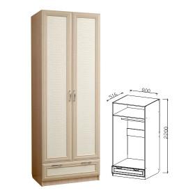 Шкаф 2д с ящиками прихожая Визит-16