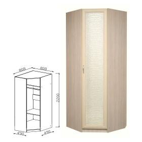 Шкаф угловой прихожая Визит-16