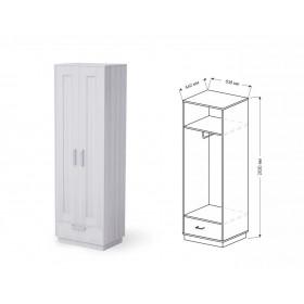 Шкаф 2-х дверный прихожая Визит-6