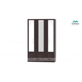 Шкаф 3-х дверный Ева-11