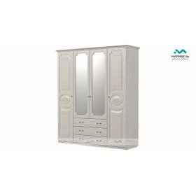 Шкаф 4-х створчатый Ивушка-5