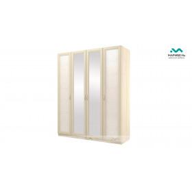Шкаф 4-х дверный Ивушка-7