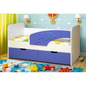 Детская кровать Дельфин МДФ (Матрица)