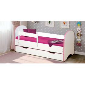 Детская кровать Радуга с 1 ящиком