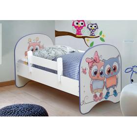 Детская кровать Совята 1.6