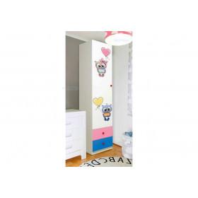 Шкаф 1-д с ящиками Совята