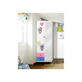 Шкаф 2-д с ящиками Совята