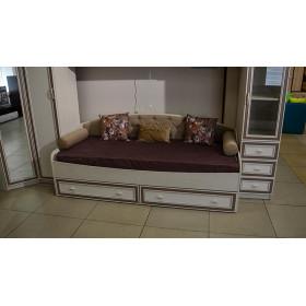 Кровать односпальная Миндаль