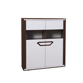 Шкаф Ева комбинированный низкий