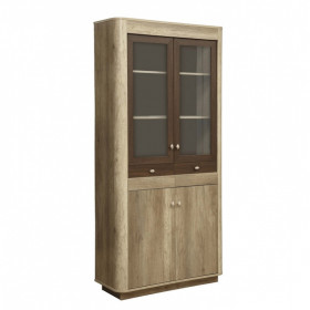 Шкаф-витрина комбинированный Фантазия