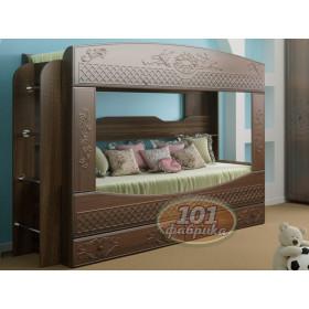Кровать двухъярусная Каролина